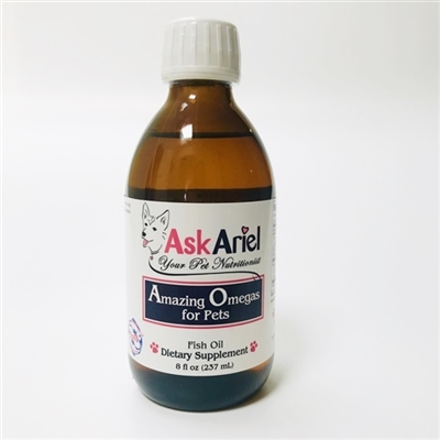 Amazing Omegas For Pets Fish Oil